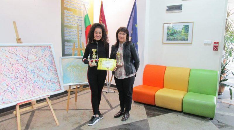 Гергана Стефанова – сред десетте победители в националния кръг на Spelling Bee