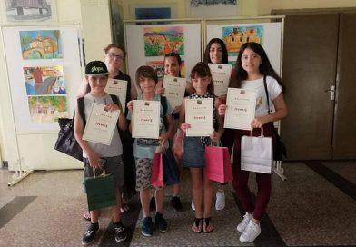 Отличени ученици в общински конкурс