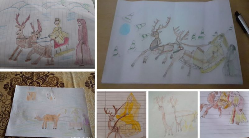 Илюстрации за старата и новата година