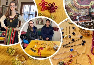 Среща с майсторка на гайтани – по проект на  Еразъм +